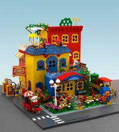 Lego fabuland MOC by Super-Junk