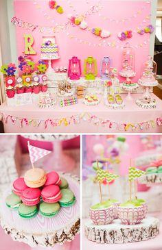 Mesas de doces para festa infantil 16