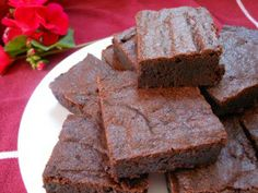 BEST made-from-scratch brownie recipe EVER!  And two more easy bar-cookie recipes.