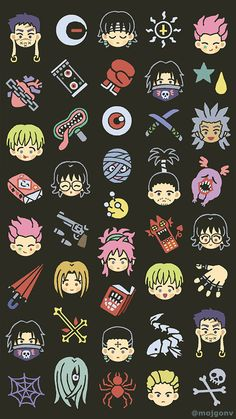 Anime Wallpaper Phone, Cool Anime Wallpapers, Animes Wallpapers, Phone Wallpapers, Kawaii Wallpaper, Wallpaper Backgrounds, Hunter X Hunter, Hunter Anime, Hisoka