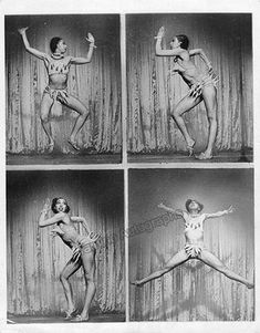 Not your usual burlesque. The outrageous and innovative Josephine Baker performing her famous banana dance Josephine Baker, Vintage Black Glamour, Vintage Beauty, Pin Up, Burlesque, Fotografia Retro, Person Of Color, Foto Poster, Harlem Renaissance