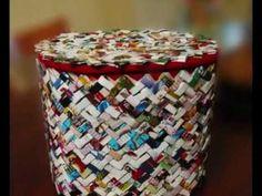 cestino carta riciclo