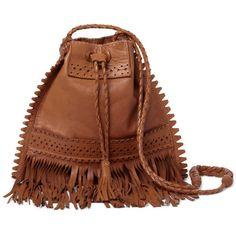 Shop The Look of Coachella ❤ liked on Polyvore featuring bags Bolsa De  Couro, Balde 05969159d4