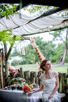 décoration mariage safari