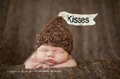 hershey kiss hat Crochet Bebe 19e994c11fcc