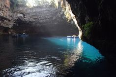 Kefalonia: handsome and grand, with a colour scheme of intense blues, golds and greens. You will feel heritage in the air for these Ionian islands have always had class and style. Luxury Villas In Greece, Luxury Accommodation, Five Star, Greek Islands, Sailing, Blues, Handsome, Boat, Vacation