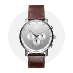Mvmt Chrono Silver Brown