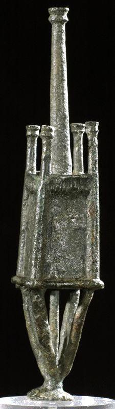Modellino di Nuraghe in Bronzo, Bronze Age - Nuragic, 900 - 600 A.C. (B.C.) Sardegna, Sardinia.