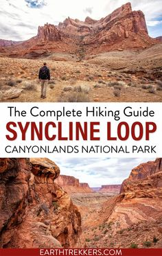 The Syncline Loop is one of the best hikes in Canyonlands National Park. This tough trail offers unique views of the park and the chance to test out your route finding skills. Here's how to do it. #canyonlands #synclineloop #hiking #nationalpark Canyonlands National Park, Travel Usa, Travel Tips, Utah Hikes, National Parks Usa, Adventure Activities, Best Hikes, Travel Around, Travel Destinations