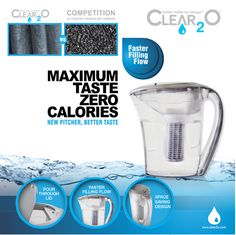 Best Water Filter, Water Filter Pitcher, Water Filters, Filtered Water Bottle, Water Pollution, Water Pitchers, Pick One, Drinking Water, Pure Products