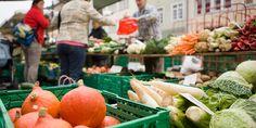 Winterthurer Wochenmarkt und Fischmarkt  Jeweils Di. und Fr. von 6-11 Uhr.  Steinberggasse, Spitalgasse, Metzggasse