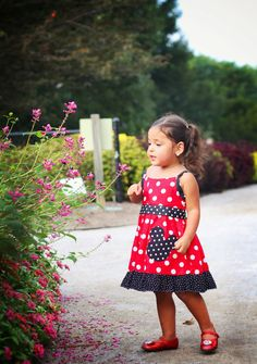 Minnie Mouse themed Dress Mouse Dress Birthday by TheLittleJoyShop, $42.99