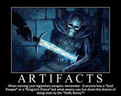 Artifacts.