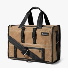 The Transit : Duffle - Waxed Canvas
