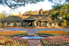 Biltmore Estate Winery; former Vanderbilt dairy barn which was recently remodeled into the winery and gift shoppe.