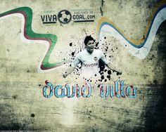 David Villa Euro 2012 HD Wallpapers