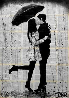 """Loui Jover; Ink 2013 Drawing """"one day"""""""