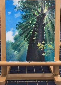 Canvas Painting Tutorials, Painting Techniques, Painting Videos, Art Painting Gallery, Paintings Of Nature, Canvas Painting Nature, Palm Tree Paintings, Oil Paintings, Painting Art
