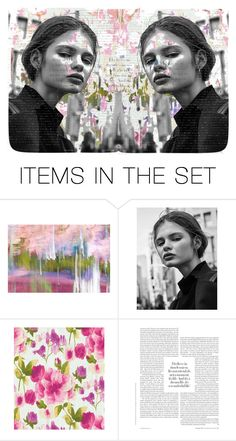 """""""The Twins"""" by violetfemme1984 ❤ liked on Polyvore featuring art"""