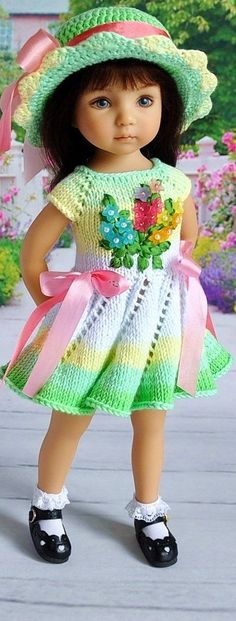 381f88fa09fca 1249 Best American girl knit clothes images in 2019 | Crochet ...