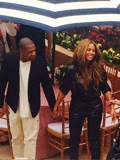 Beyonce & Jay At Roc Nation Pre - Grammy Brunch 07.02.2015