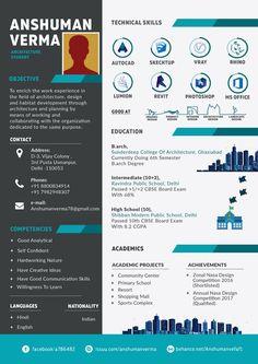 Architecture Resume Architecture Resume on Behance Graphic Design Resume, Cv Design, Resume Design Template, Resume Templates, Cv Template, Design Ideas, Architecture Portfolio Template, Architecture Student, Resume Architecture