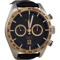 Tissot Men's Watch T9254274605100 PRS 516 18K GOLD Automatic Movement...