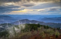 Blue Ridge Parkway by Dave Allen Photography