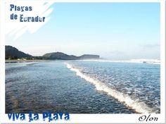 Olon Beach. Ecuador