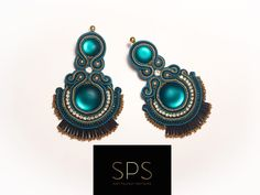 """Suzy Palhazy Soutache on Instagram: """"Beautiful accessories for beautiful Ladies! Live life and enjoy it. That's the real key to beauty - Be brave and Be unique! 💫…"""" Soutache Earrings, Drop Earrings, Suzy, Beautiful Ladies, Everyday Look, Live Life, Brave, Unique, Handmade"""