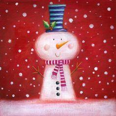 Christmas Rock, Christmas Snowman, All Things Christmas, Winter Christmas, Vintage Christmas, Christmas Ornaments, Illustration Noel, Christmas Illustration, Christmas Clipart