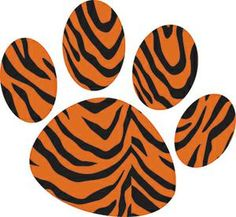 Magnet Clips Tiger Paw
