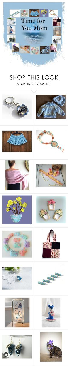 """""""Time for You Mom: Handmade Presents for Her"""" by paulinemcewen on Polyvore featuring Pusheen, Lampara and rustic"""
