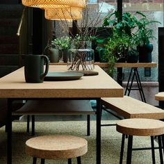 Ilse Crawford designed some wonderfull cork items for Ikea! They will be in stores as from August 2015!