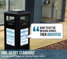 advertised