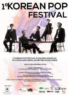 No dia 13 de Dezembro, a Cinemateca de São Paulo recebe a primeira edição do Korean Pop Festival. Serão 24 grupos de jovens de todo o Brasil disputando quatro lugares, onde cada um vai dançar uma música e apresentar seu trabalho.