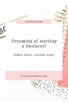 Want to start a business but don't know where to start? 5 actionable steps to building an online business. Including a free Business Startup Checklist. Starting Your Own Business, Start Up Business, Business Tips, Online Business, Writing A Business Plan, Business Planning, Planning App, Opening A Business, Mini Library