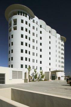Former Grain Silos, Bunbury (1937), now a landmark residential adaptive reuse development