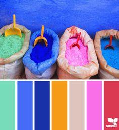 color scooped - design seeds - Home Decor Idea Rgb Palette, Colour Pallette, Color Palate, Colour Schemes, Color Combos, Color Patterns, Design Seeds, Pantone, Color Harmony
