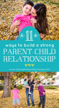 11 Ways To Build A Strong Parent-Child Relationship (Through Connection) - Raising Kids With Purpose Relationship Building, Strong Relationship, Healthy Relationships, Sibling Relationships, Mom Advice, Parenting Advice, Kids And Parenting, Building For Kids, Building Building