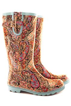 Nomad Women's Puddles Boot,Paisley Black/Multi,9 M US | Gifts for ...
