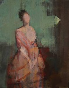 """Saatchi Art Artist Fanny Nushka Moreaux; Painting, """"Study for Pink Silk, 2015 - after the painting by Van Dyck"""" #art"""