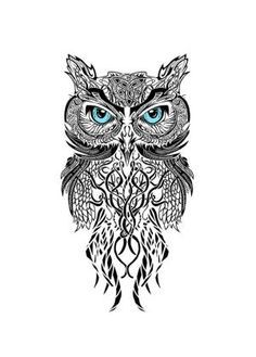 geometric owl - Google Search