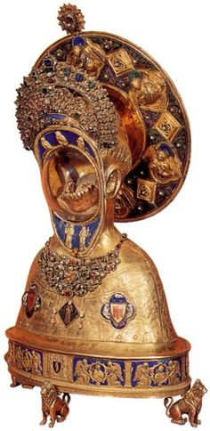 Reliquary of the Jaw of St. Anthony, 1349