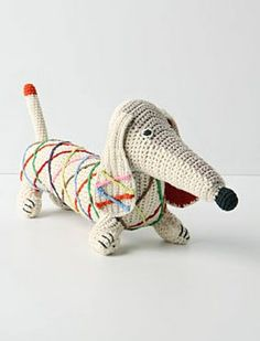 The Long and Short of it All: A Dachshund Dog News Magazine: Anthropologie Dachshund