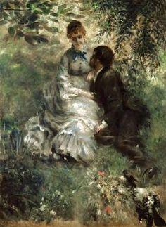 Pierre-Auguste Renoir - Los amantes