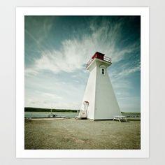 lighthouse. Art Print by Seasons Photography - $25.00