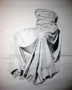 Diane Pascual's Blog: Clothes Figure Drawing Class - Drapery assignment