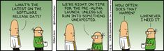 Unexpected Things Happen - Dilbert Comic Strip on 2016-01-16 | Dilbert by Scott Adams
