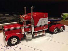 Peterbilt model truck.